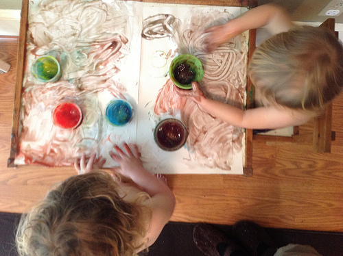 play, art, kids, Beauty, home made finger paint, fun with kids